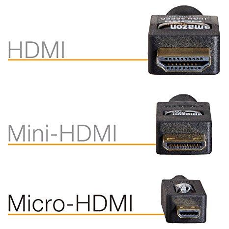 HDMI types
